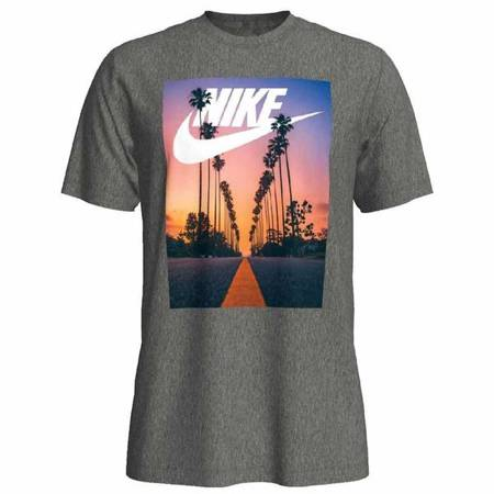 Męski T-Shirt Nike SUNSET PALM BQ0715-063